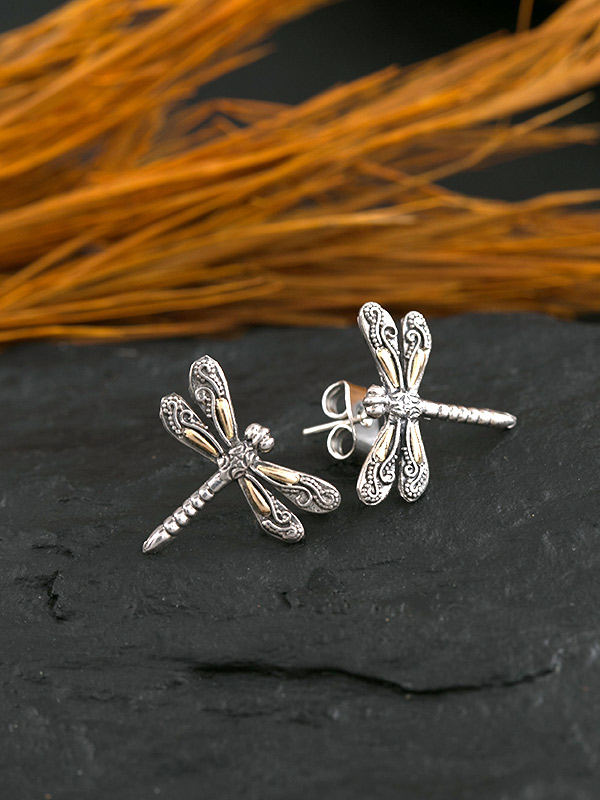 Goldenfly Studs