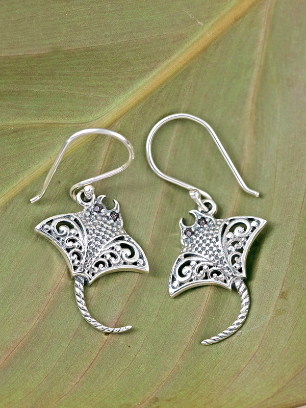 Manta Earrings