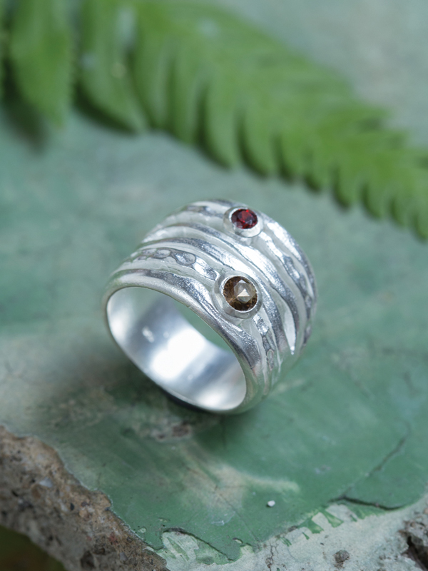 Gem Cable Ring