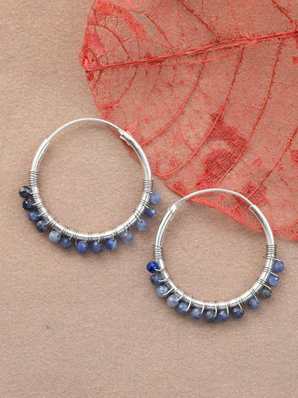 Beadery Mini-Hoop Earrings