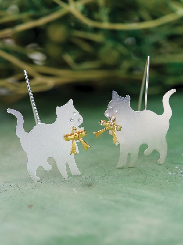 Cat Dandy Earrings
