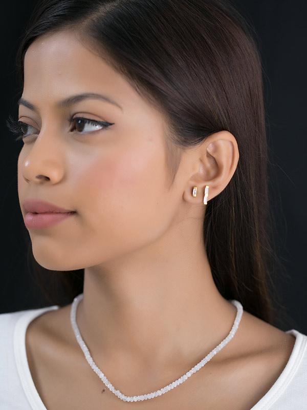 Duo Filament Earrings