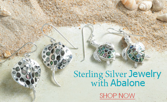 Stering Silver Jewelry with Abalone