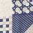 Blue Geo Pattern